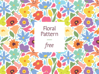 Colorful Floral Pattern Vector