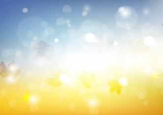 Sunny Fall Background Vector