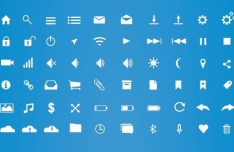 60 Fully Scalable UI Icons