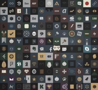 240+ Dark iOS Icons PSD
