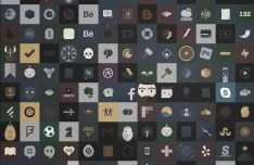 240+ Dark iOS Icons PSD