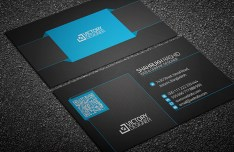 Code & Corporate Business Card Template PSD