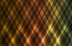 Glossy Golden Rhombus Background Vector