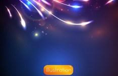 Elegant Glowing Background Vector