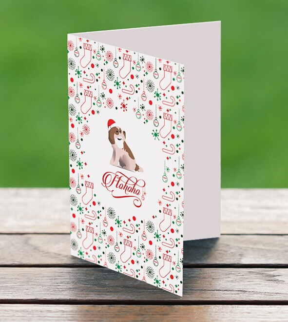 Free Holiday Greeting Card Template Psd Titanui