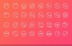 30 Vector Line Icons