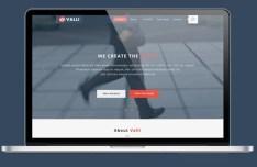 Valli Business Website Template PSD