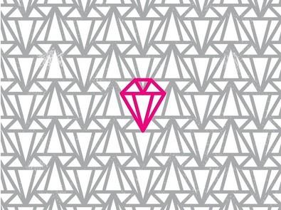 Simple Diamond Pattern Vector