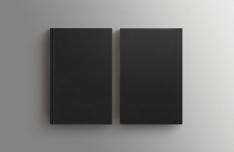 Black Book Mock-ups PSD