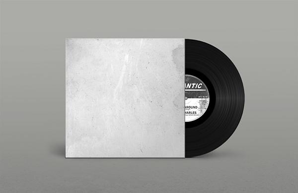 Record Sleeve Mockup PSD