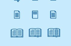 50 Vector Library Icons