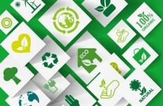 Green ECO Concept Icons Vector