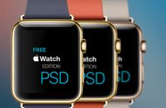 Apple Watch Edition Templates PSD