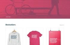 BikeRangers Online Shop Template PSD