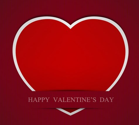 Creative Valentine's Day Heart Design Vector 01