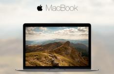 New MacBook 2015 Mockup Sketch