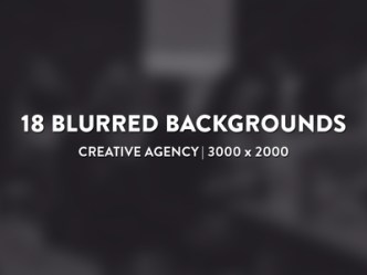 18 Blurred Backgrounds Pack