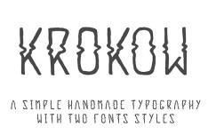 Krokow Font