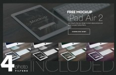 iPad Air 2 Mockups PSD