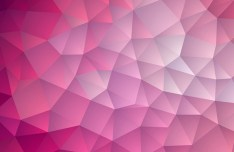 Red Gradient Geometric Background Vector