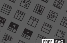 Wireframer Icon Pack Vector