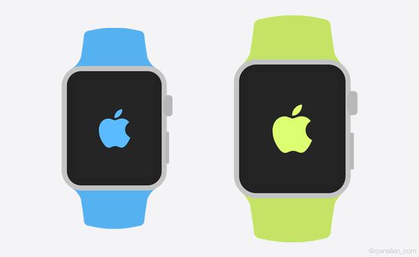 Apple Watch GUI Templates PSD
