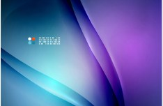 Fashion Gradient Curves Background Vector