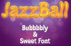 JAZZBALL Font