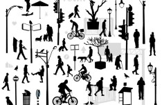 Urban Silhouettes Vector