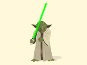 Star Wars Yoda Vector