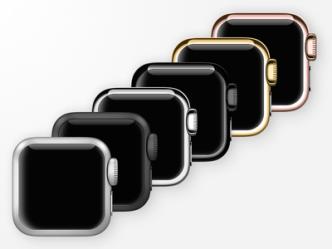 Apple Watch Icons PSD