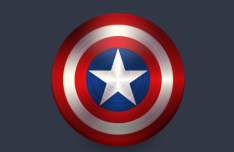 Captain America Shield Vector