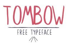 Tombow Typeface