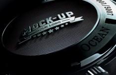 Realistic Watch Logo Mockup PSD