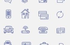 100 UI Line Icons