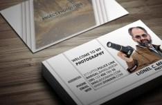 Occupational Business Card Template PSD