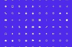 80 UI UX Icons (AI + PSD)