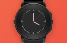 Pebble Smartwatch Template For Sketch