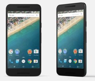 Google Nexus 5X PSD Templates
