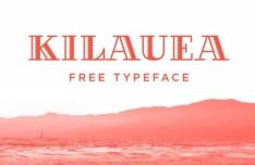 KILAUEA Vector Typeface
