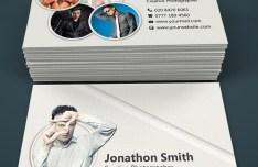 Modern Photography Business Card Templates PSD