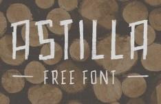 Astilla Hand Drawn Font