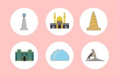 Iraqi Icon Set PSD
