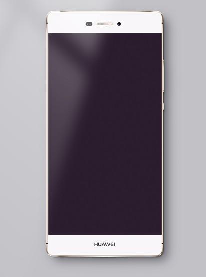 Huawei P8 PSD Mockup