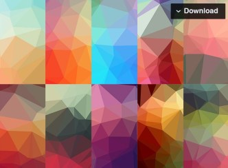 10 Low-poly Background Textures