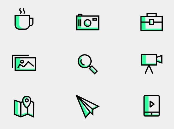 25 Vector Line Icons