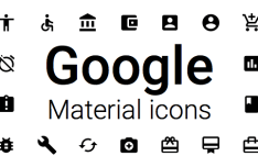 Google Material Icons for Sketch