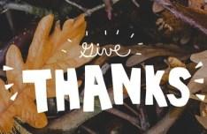Thanksgiving Words Vector