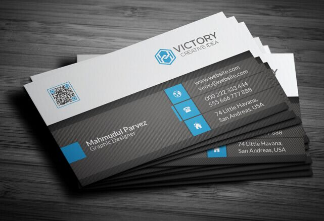 Free Print Ready High Resolution Corporate Business Card ...