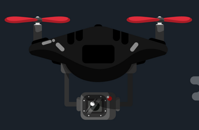 Drone Vector Illustration